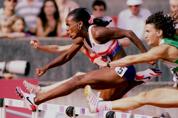 Jackie Joyner-Kersee. Greatest Female Athlete of All Time.