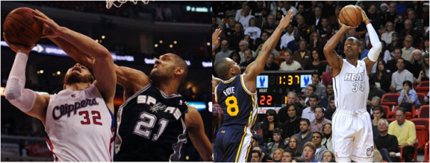 Two All-Time NBA Playoff Leaders - Tim Duncan and Ray Allen - May Be Destined to Meet in the 2013 Finals