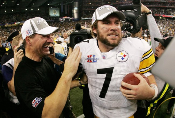 A Bearded Ben Roesthlisberger Becomes the Youngest Winning Quarterback in Super Bowl History