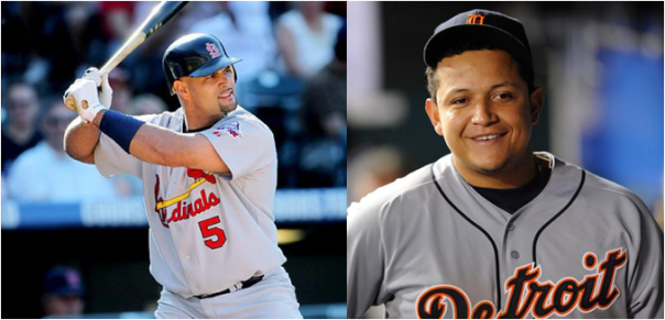 Albert Pujols Was the Last Back-to-Back MVP Winner. Will Miguel Cabrera Be Next?