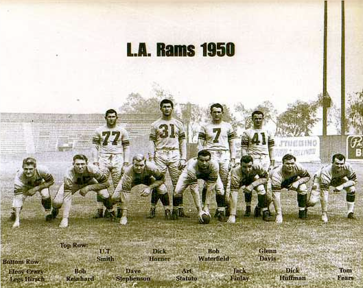 The 1950 Los Angeles Rams Scored 38.83 Points a Game