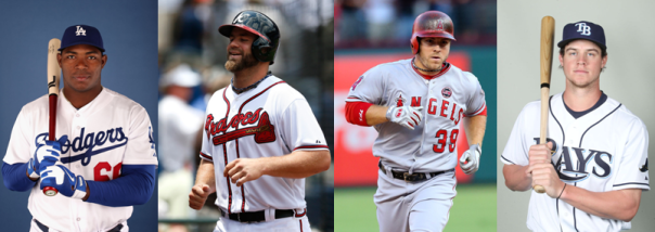 Yasiel Puig, Evan Gattis, J.B. Shuck and Wil Myers Are the Top Hitting Rookies of 2013