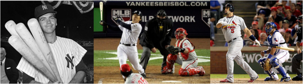 Bobby Richardson, Hideki Matsui and Albert Pujols - 6 RBI in a World Series Game