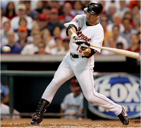 Carlos Beltran Hit 8 Home Runs in the 2004 Playoffs for the Houston Astros