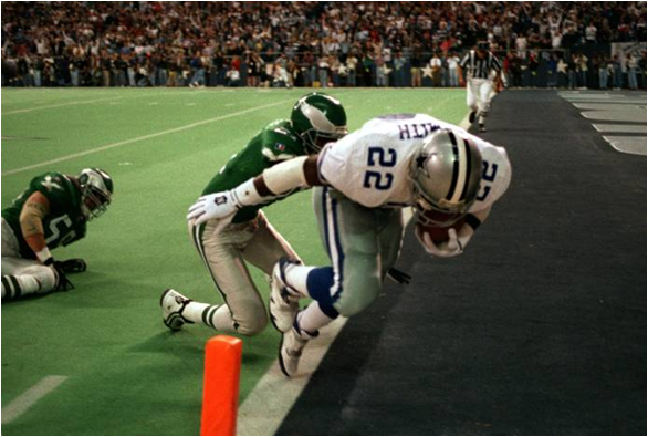 Emmitt Smith Has the Most Rushing Touchdowns in NFL History. Can Adrian Peterson Catch Him?
