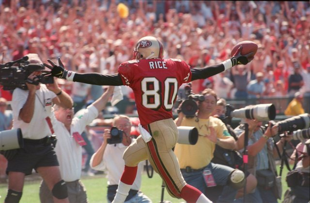Jerry Rice Has More Receiving Touchdowns Than Anyone and Will for a Long While