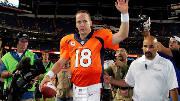 Peyton Manning is on His Way to the All-Time Passing Touchdowns Record