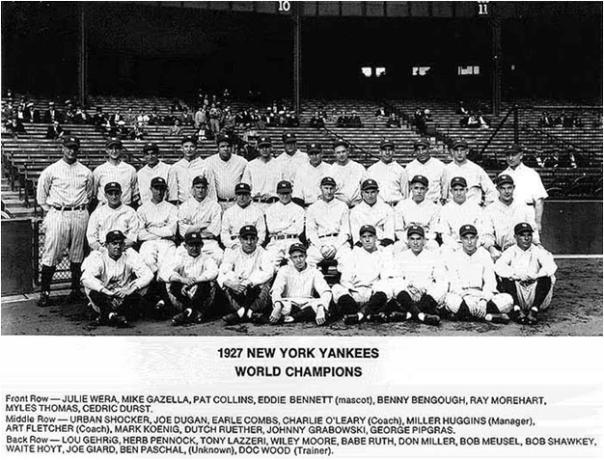 The 1927 New York Yankees Began the Longest Winning Streak in World Series History - 12 Games
