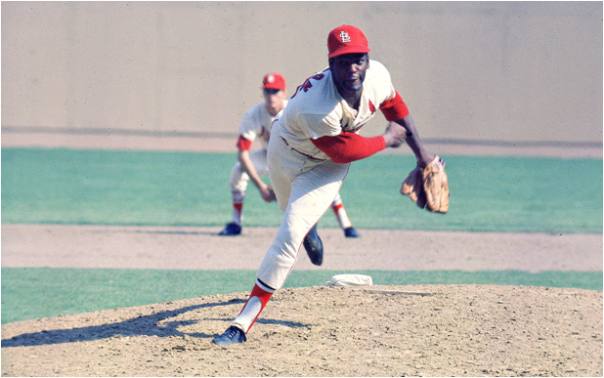 The Awesome - and Intimidating - Bob Gibson Struck Out 17 Detroit Tigers in Game 1 of the 1968 World Series, Most Ever in a Postseason Game