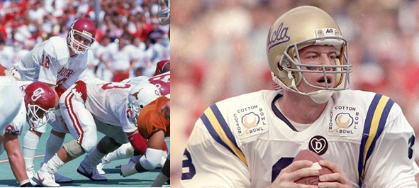 College Football Hall of Fame Member, Troy Aikman, Played Two Years Apiece For the Oklahoma Sooners and the UCLA Bruins