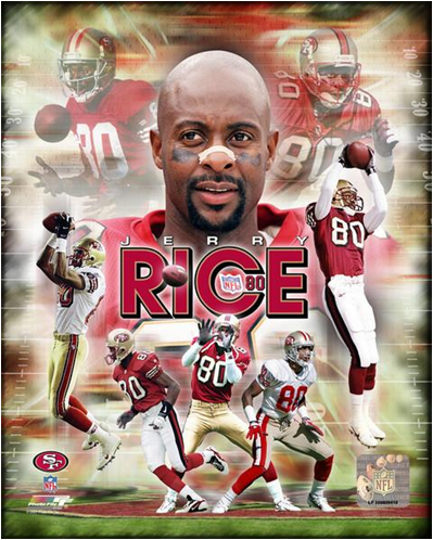 Jerry Rice - Most Total Yards From Scrimmage in History