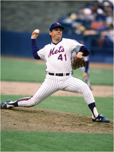 Tom Seaver Was Inducted Into The Baseball Hall Of Fame With The Highest Vote Percentage
