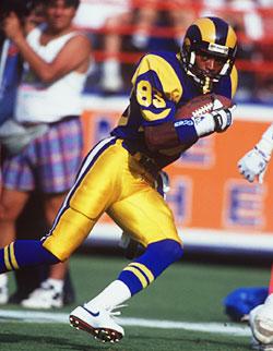 "Willie ""Flipper"" Anderson Caught For 336 Yards Against the New Orleans Saints"