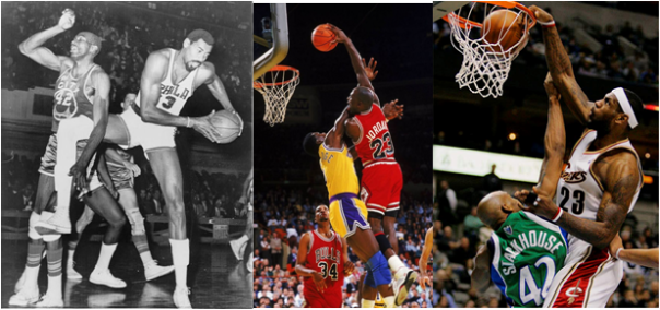 Wilt Chamberlain, Michael Jordan and LeBron James Are the Only Three Players Ever To Break the 31-PER Barrier