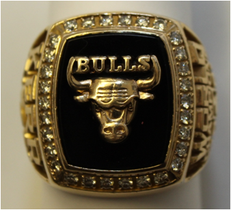 Chicago Bulls 1991 NBA Championship Ring