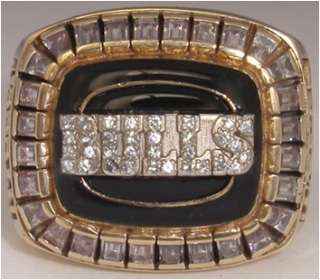 Chicago Bulls 1992 NBA Championship Ring