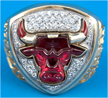 Chicago Bulls 1993 NBA Championship Ring
