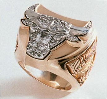 Chicago Bulls 1997 NBA Championship Ring