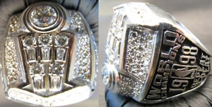 Chicago Bulls 1998 NBA Championship Ring