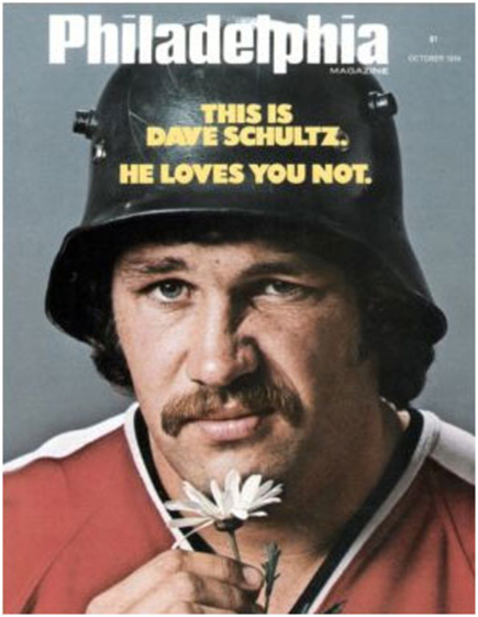 Dave Schultz Put Up 472 Penalty Minutes In The Philadelphia Flyers' 1974-75 Championship Season. No One Else Has Come Close.
