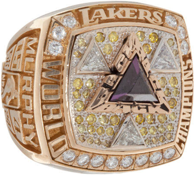 Los Angeles Lakers 2002 NBA Championship Ring