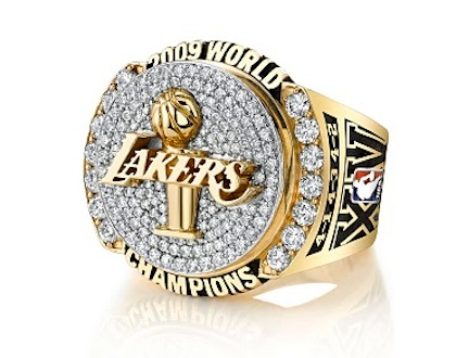 Los Angeles Lakers 2009 NBA Championship Ring