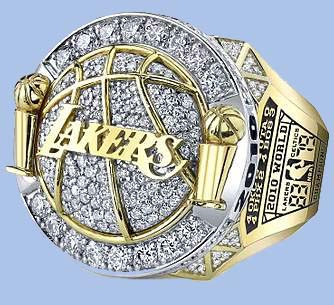 Los Angeles Lakers 2010 NBA Championship Ring