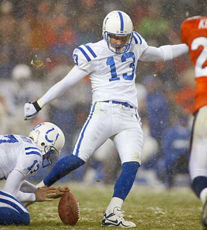 Mike Vanderjagt is the Most Accurate Field-Goal Kicker of All Time