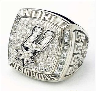 San Antonio Spurs 2003 NBA Championship Ring