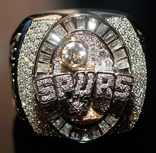 San Antonio Spurs 2005 NBA Championship Ring