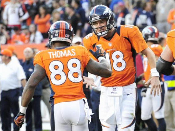 The 2013 Denver Broncos May Become The Highest Scoring Offense In NFL History Sunday
