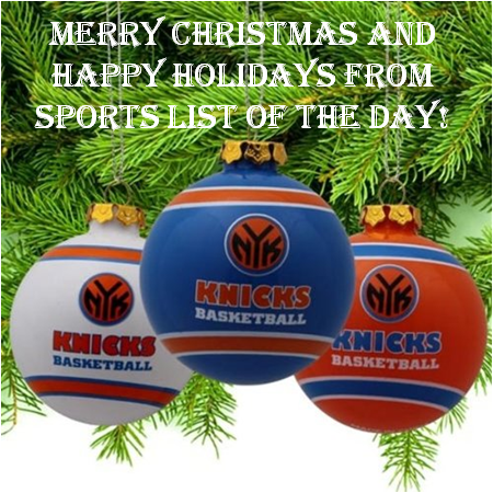 The New York Knicks Have The Most Christmas Day Wins