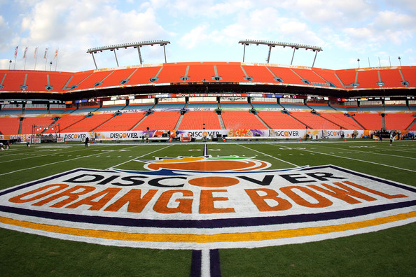 The Orange Bowl - Now Played At Sun Life Stadium
