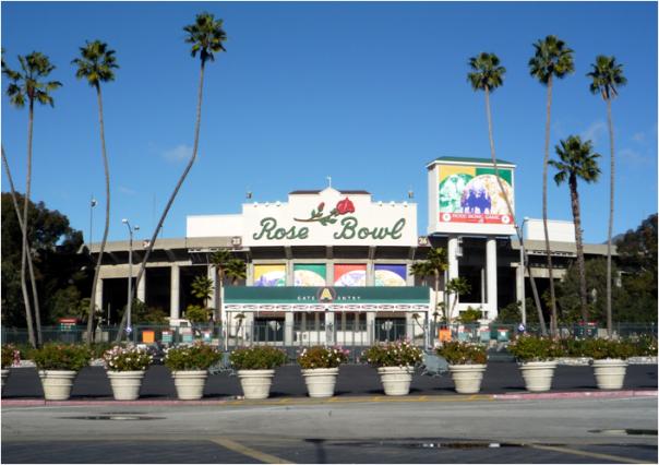 The Rose Bowl In Pasadena, California