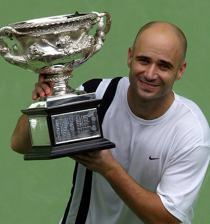 Andre Agassi Was The Last American To Win The Australian Open...Over A Decade Ago