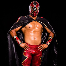 Arizona Diamondbacks Mascot D-Backs Luchador