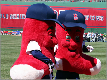 Boston Red Sox Mascots Lefty And Righty