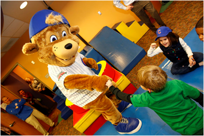 Chicago Cubs Mascot Clark The Cub