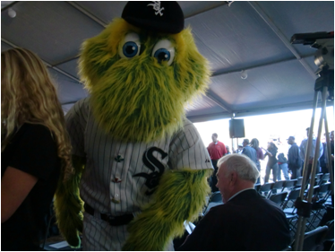 Chicago White Sox Mascot Southpaw