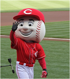 Cincinnati Reds Mascot Mr. Red