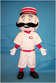 Cincinnati Reds Mascot Mr. Redlegs