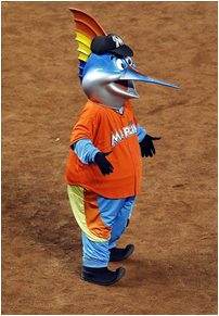 Miami Marlins Mascot Billy The Marlin