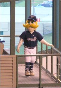 Milwaukee Brewers Mascot Bernie Brewer