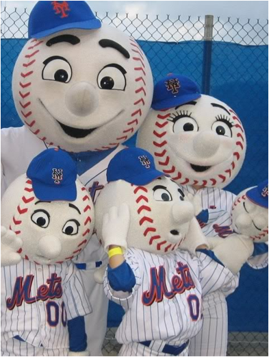 Mr. And Mrs. Met...And The Kids!
