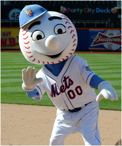 New York Mets Mascot Mr. Met
