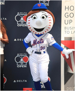 New York Mets Mascot Mrs. Met