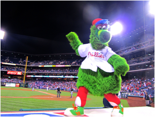 Philadelphia Phillies Mascot Phillie Phanatic