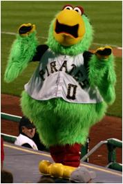 Pittsburgh Pirates Mascot Pirate Parrot