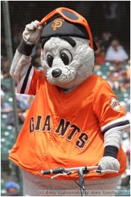 San Francisco Giants Mascot Lou Seal