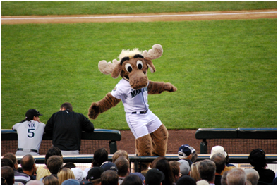 Seattle Mariners Mascot Mariner Moose